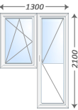 Балконные блоки и двери на заказ по ключ