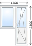 Балконные блоки и двери на заказ